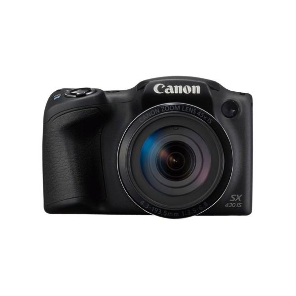 Canon powershot sx430 is negro cámara de fotos digital compacta 20mp hd zoom óptico estabilizador inteligente wifi nfc