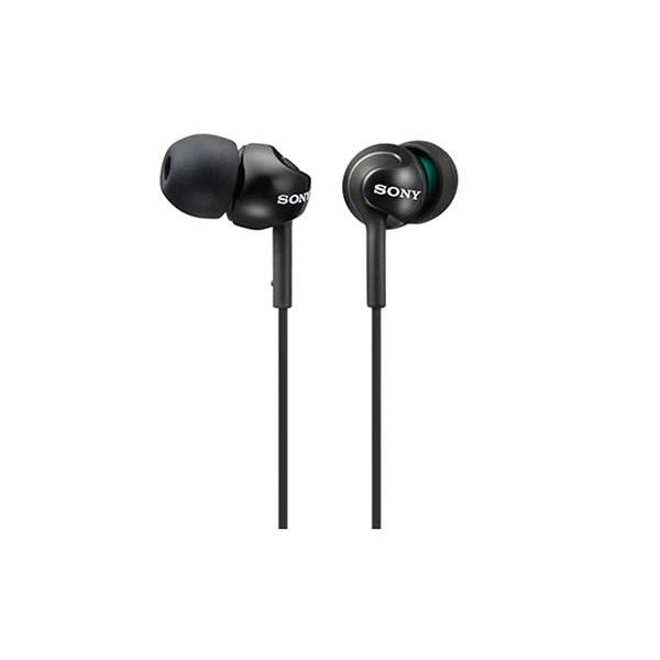 Sony mdrex110lpb auriculares de botón negros conector en 90º