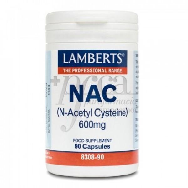 NAC (N-ACETIL CISTEINA) 600MG 90 CAPS