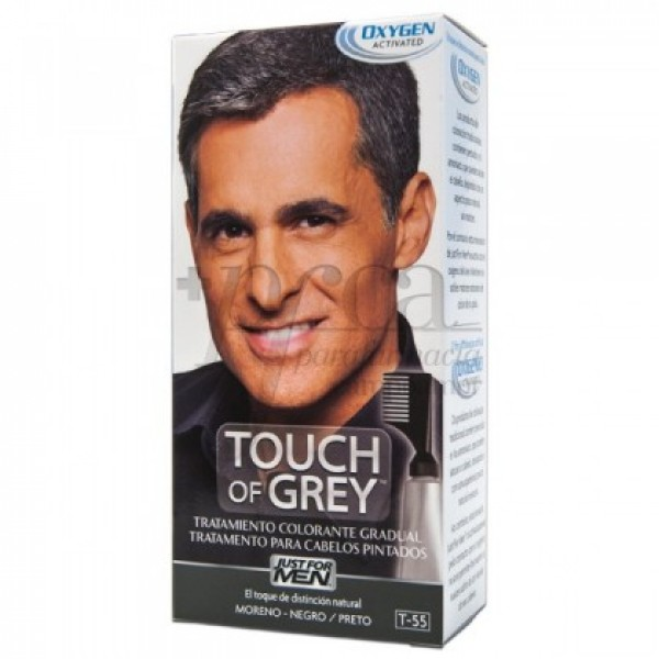 JUST FOR MEN TOUCH OF GREY MORENO T-55