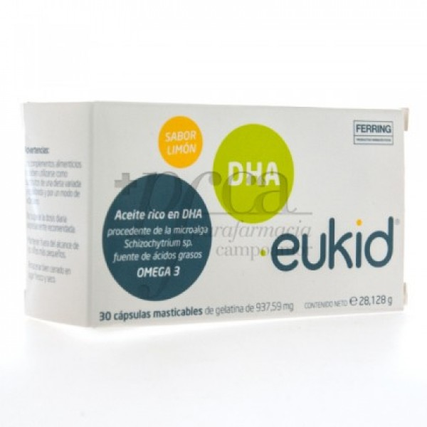 EUKID 30 CAPS MASTICABLES
