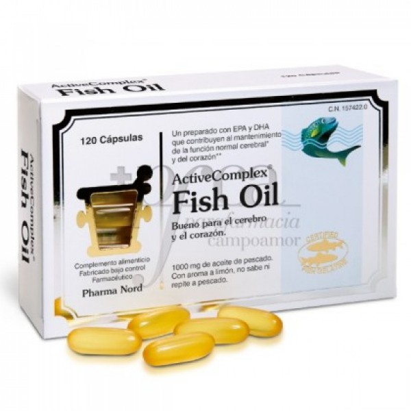 ACTIVECOMPLEX FISH OIL 120 CAPS