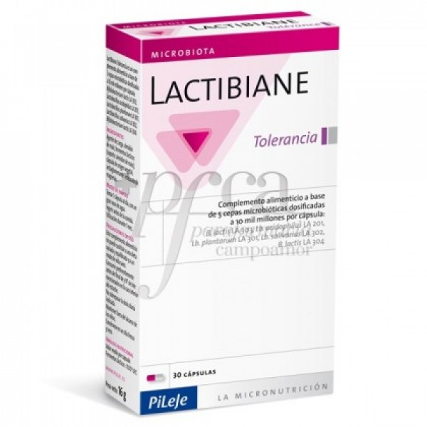 LACTIBIANE TOLERANCE PILEJE 2,5 G 30 CAPS