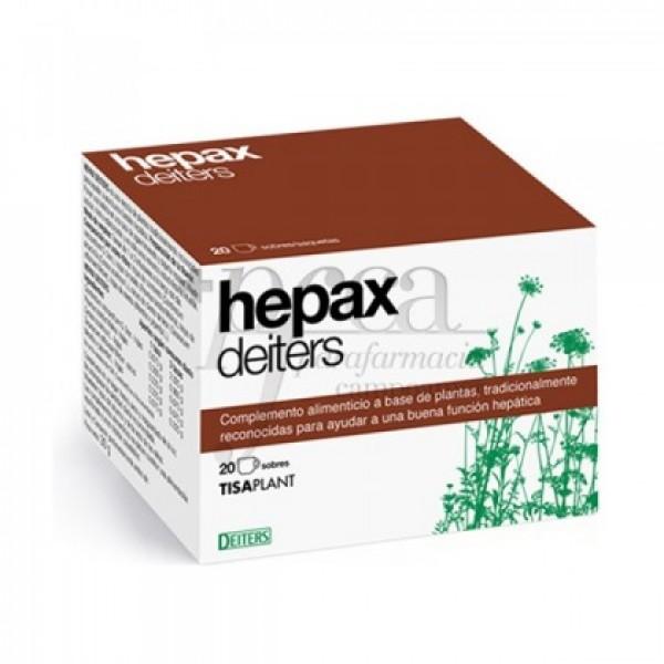 HEPAX DEITERS 20 SOBRES
