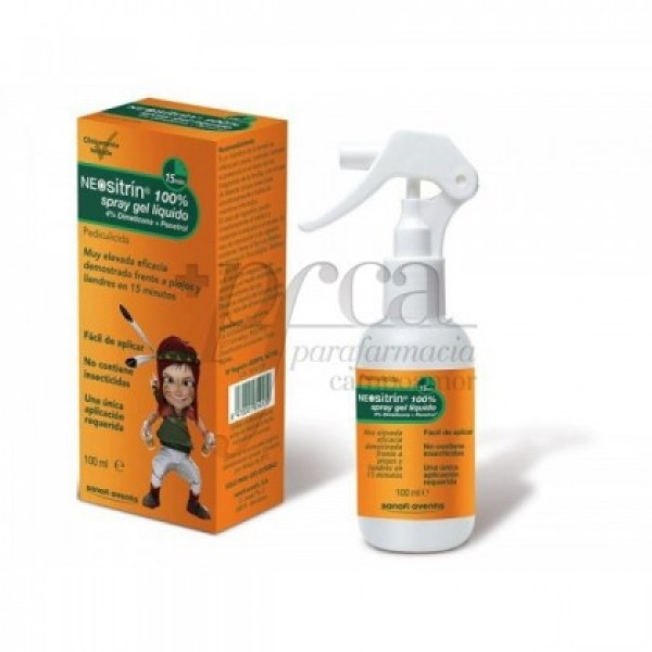 NEOSITRIN ANTIPIOJOS SPRAY GEL LIQUIDO 100 ML
