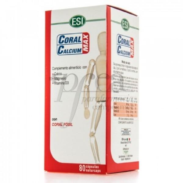 CORAL CALCIUM MAX 80 CAPS