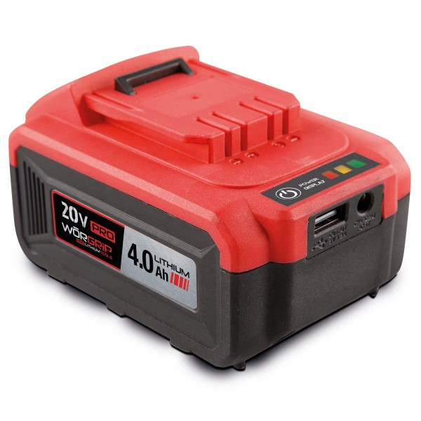 Bateria worgrip-pro 20v. 4.0ah.