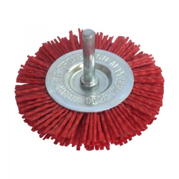 Cepillo nylon abr. bloque 100 mm. e-6mm.