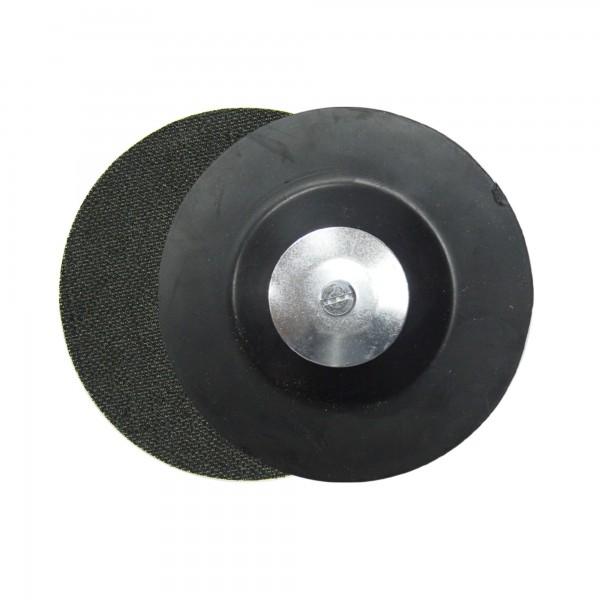 Disco caucho 125 mm. velcro