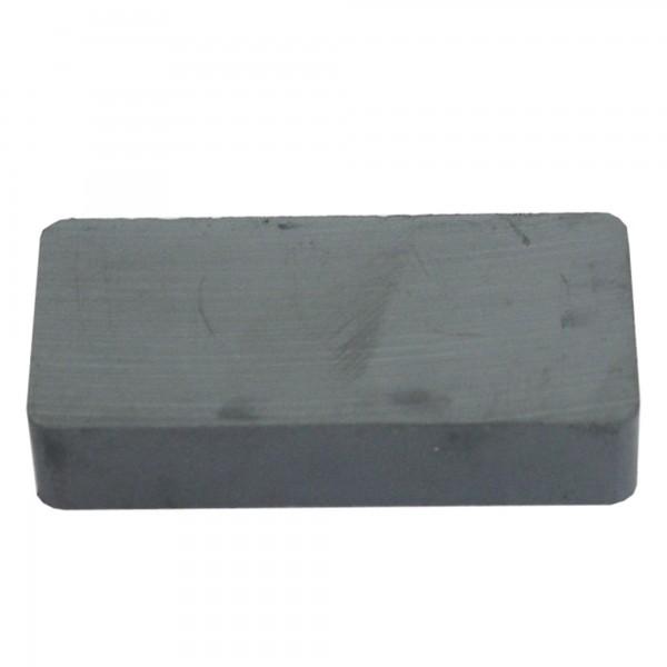 Iman ferrita rectangular  47x22x10 mm.