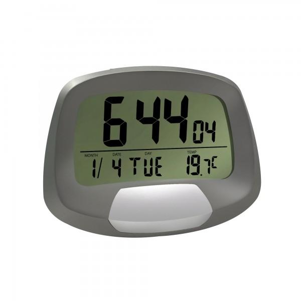 Reloj digital c/alarma y calendario