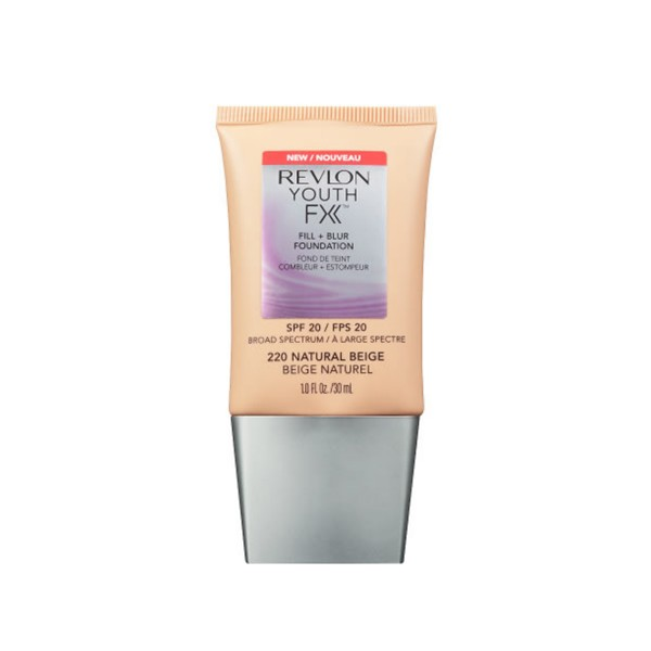 Revlon youthfx fill&blur foundation spf20 220 natural beige 30ml