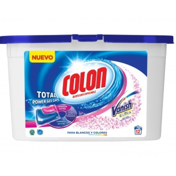 COLON Detergente Vanish Gel 12 cápsulas