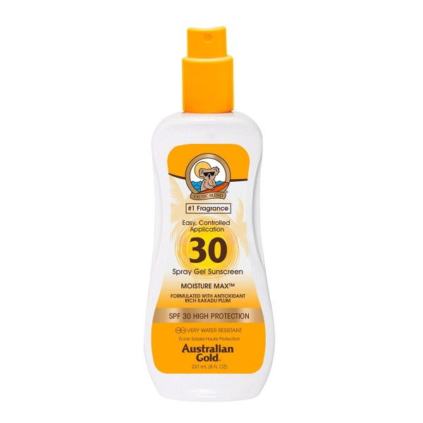Australian gold spf30 spray gel 237ml vaporizador