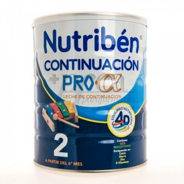 NUTRIBEN 2 LECHE CONTINUACION 800 G