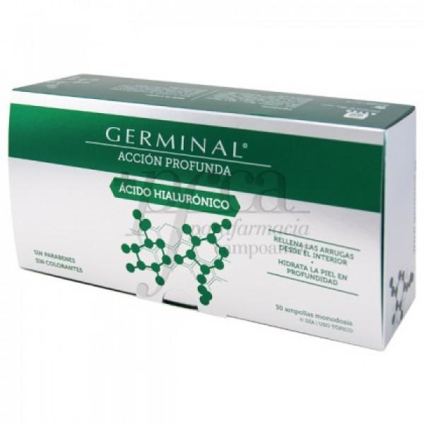 GERMINAL ACIDO HIALURONICO 30 AMPOLLAS DE 1 ML