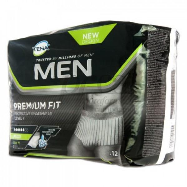 TENA MEN PREMIUM FIT MAXI T/M LEVEL 4 12 PANTS