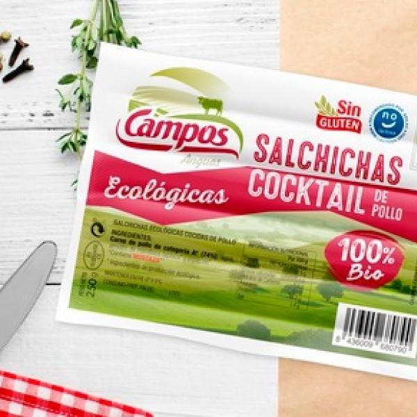 Salchichas Cocktail de Pollo de Producción Ecológica 250 gr.