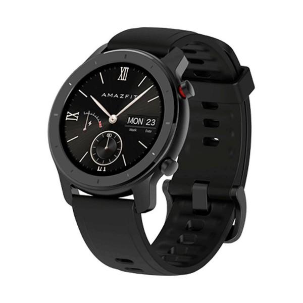 Xiaomi amazfit gtr smartwatch negro 1.2'' 42mm amoled gps bluetooth 24h de autonomía