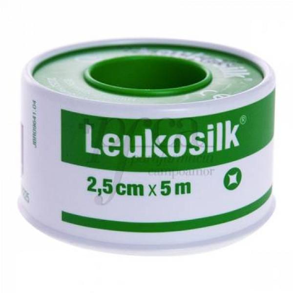 LEUKOSILK SEDA 5MX2,50CM