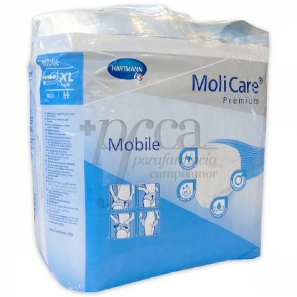 MOLICARE PREMIUM MOBILE T/XL 14U 6 GOTAS