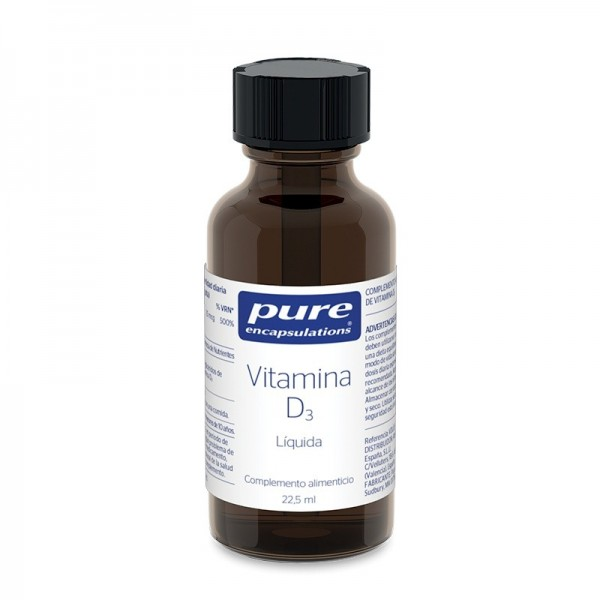 PURE ENCAPSULATIONS VITAMINA D3 LIQUIDA 22.5 ML