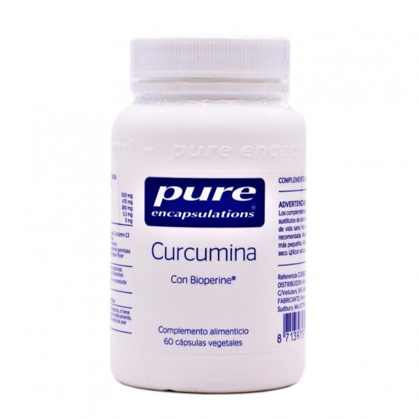 PURE ENCAPSULATIONS CURCUMINA 60 CAPS