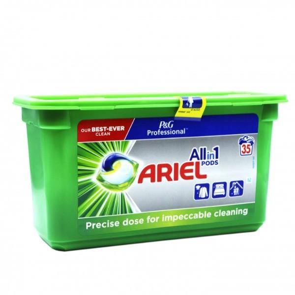Ariel detergente Tabs 3in1 35 uds