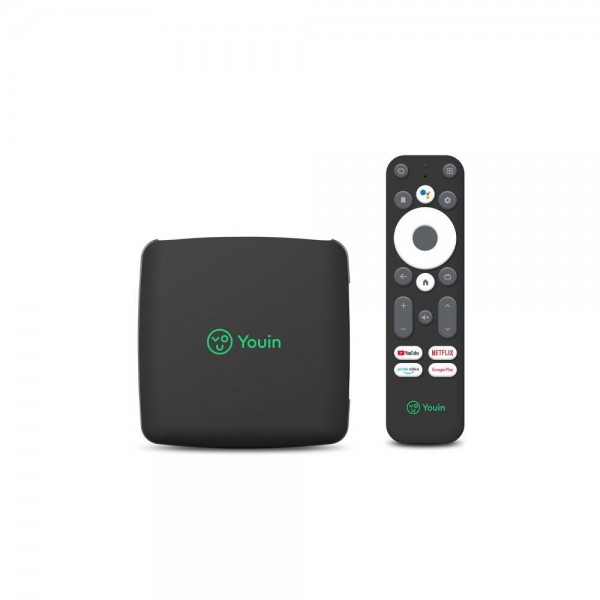 Receptor you-box youin android tv 10.0 8gb rom usb 3.0 ethernet