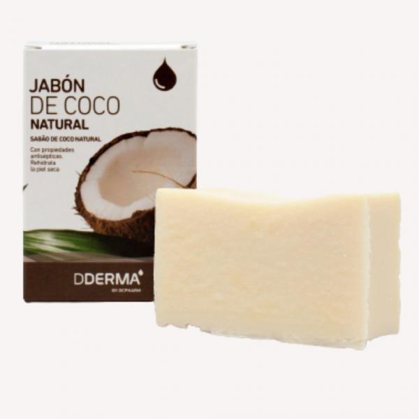 DDERMA JABON DE COCO NATURAL