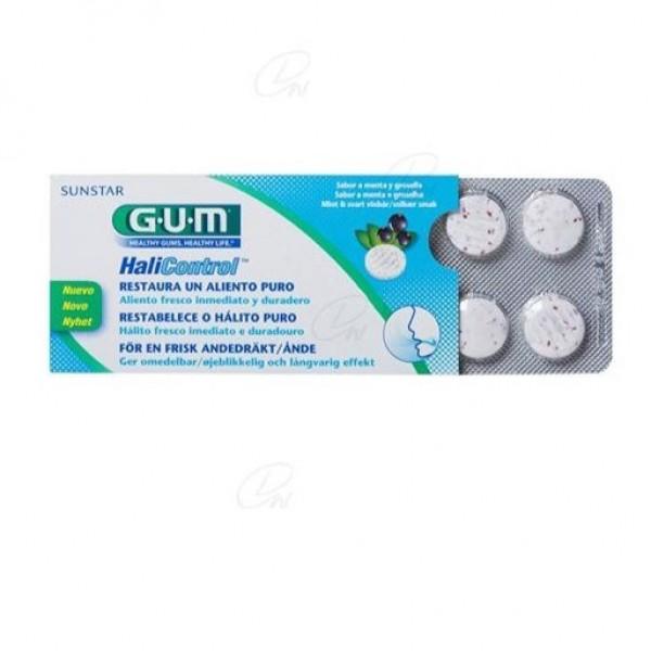 GUM HALICONTROL 10 TABLETAS 360