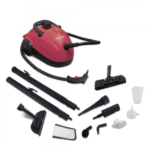 Limpiadora vapor worgrip 1500w 4 bar