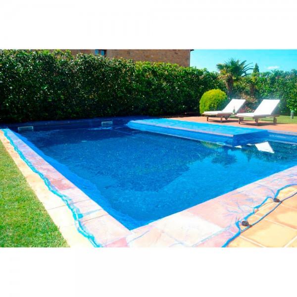 Malla para piscina 5x9m leaf pool cover