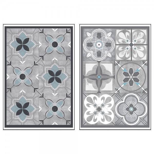 Sticker decorativo modelo azulejo colores surtidos
