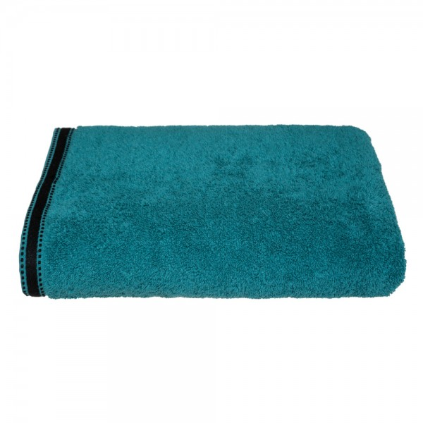 Toalla baño premium color verde petrol 100x150cm