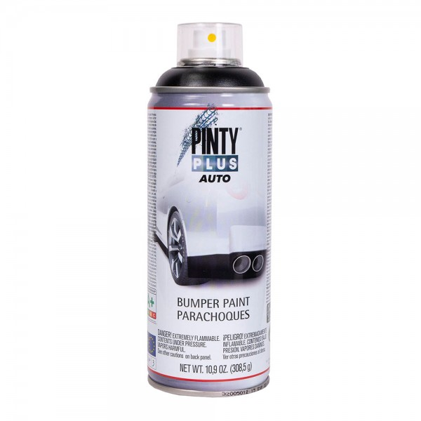 Pintura en spray pintyplus auto 520cc bumper texturado negro bt104